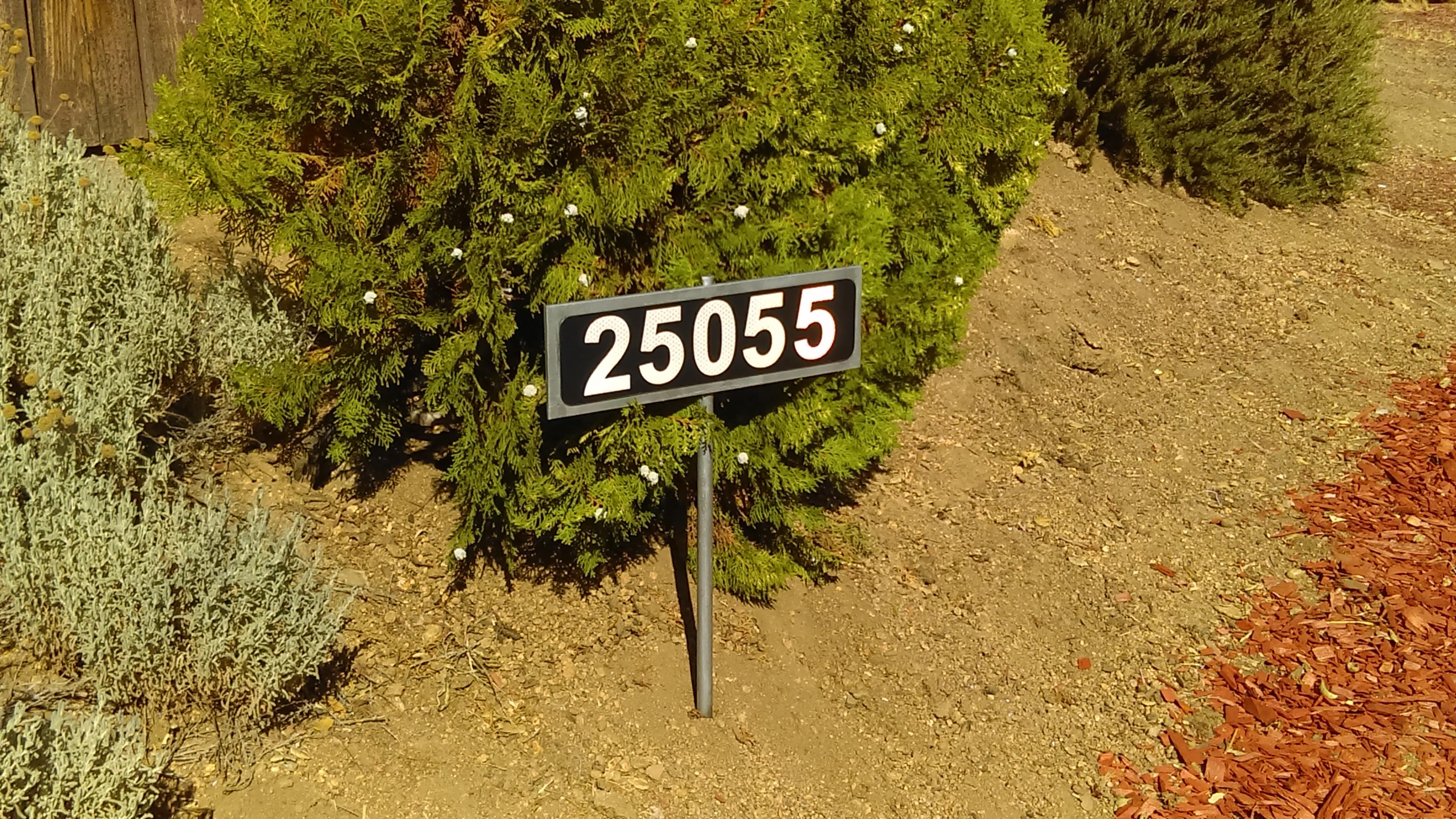 IMAG0178 - Reflective Address Sign